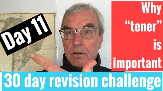 Spanish GCSE 30 day challenge   day 11