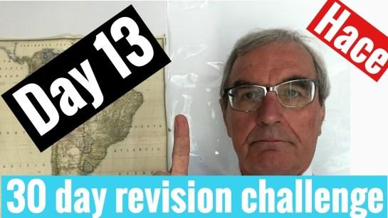 Spanish GCSE 30 day challenge   day 13