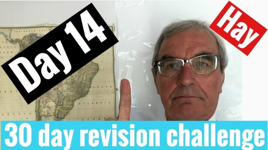 Spanish GCSE 30 day challenge | day 14