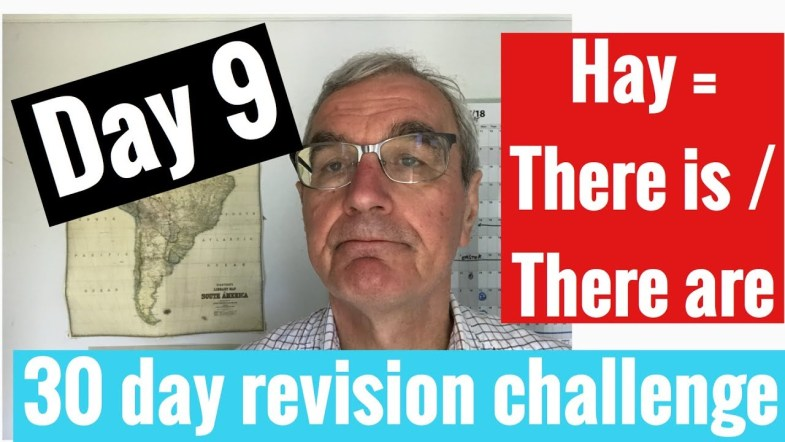 Spanish GCSE 30 day revision challenge   day 9