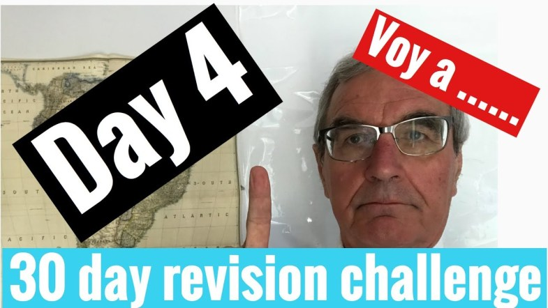 Spanish GCSE 30 day challenge   day 4