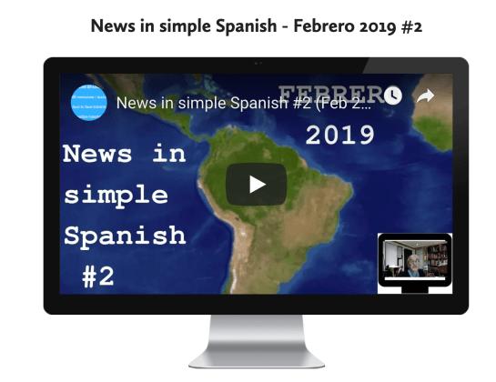 News in simle Spanish #2