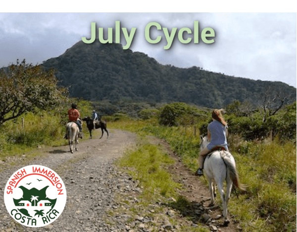 July Spanish Immersion Cycle