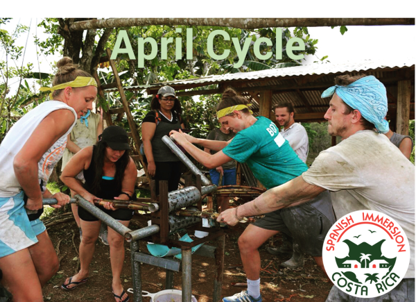 April Spanish Immersion Cycle