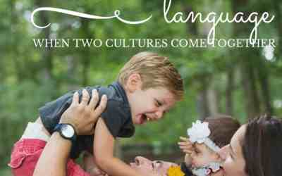 Little Ones and Language: When Two Cultures Meet