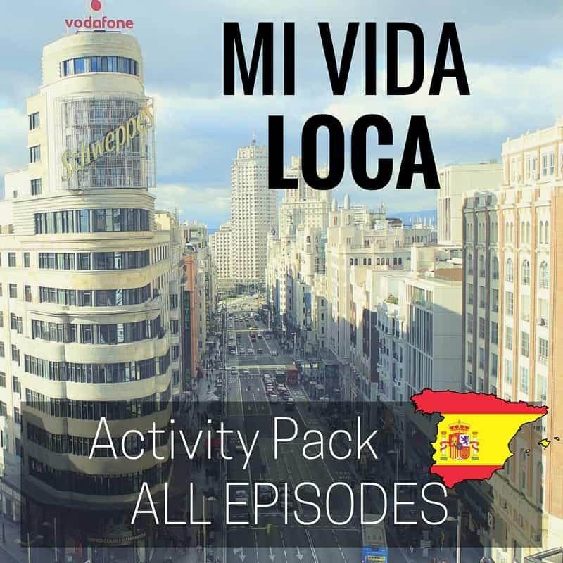 Mi Vida Loca Activities And Games
