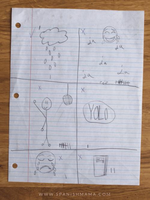 Draw, listen, check image