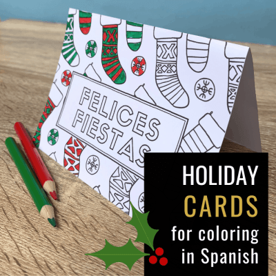 Holiday Cards in Spanish