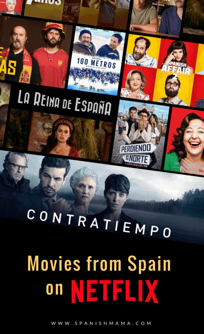 Netflix Spain movies