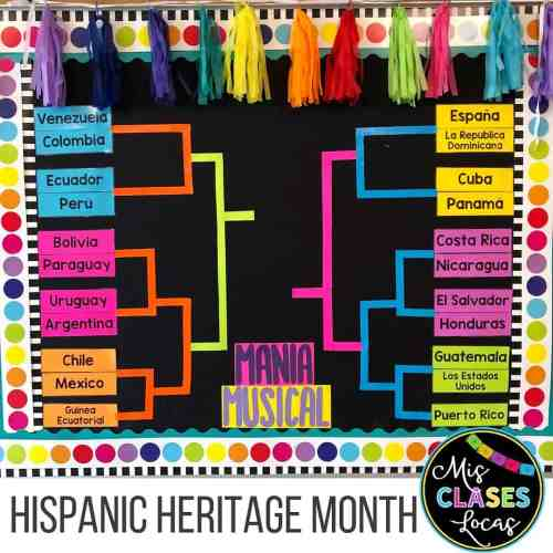 hispanic heritage month music activities