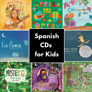Spanish Songs for Kids CDs