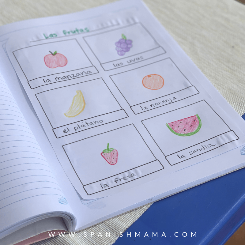 vocabulary notebook for kids