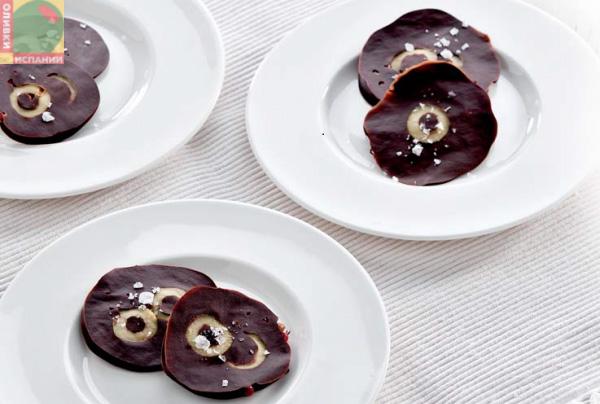 шоколад оливки