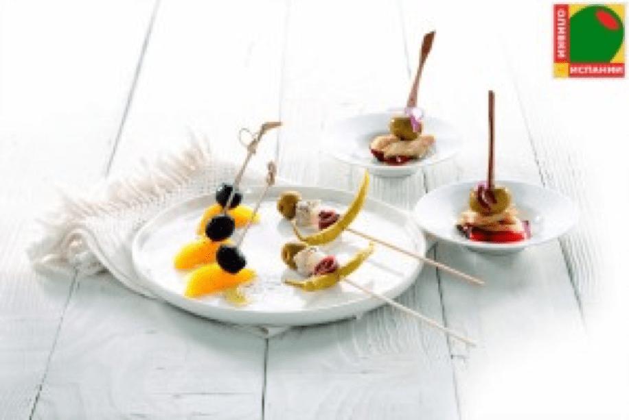 Шампуры с оливками