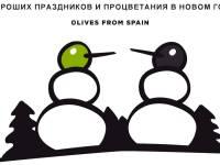 В эти новогодние праздники готовь всей семьей блюда с испанскими оливками