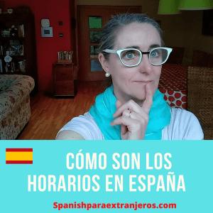 Horarios en España