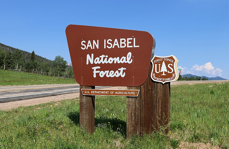 Highway Of Legends Colorado Map.San Isabel National Forest Spanish Peaks County Explore Southern