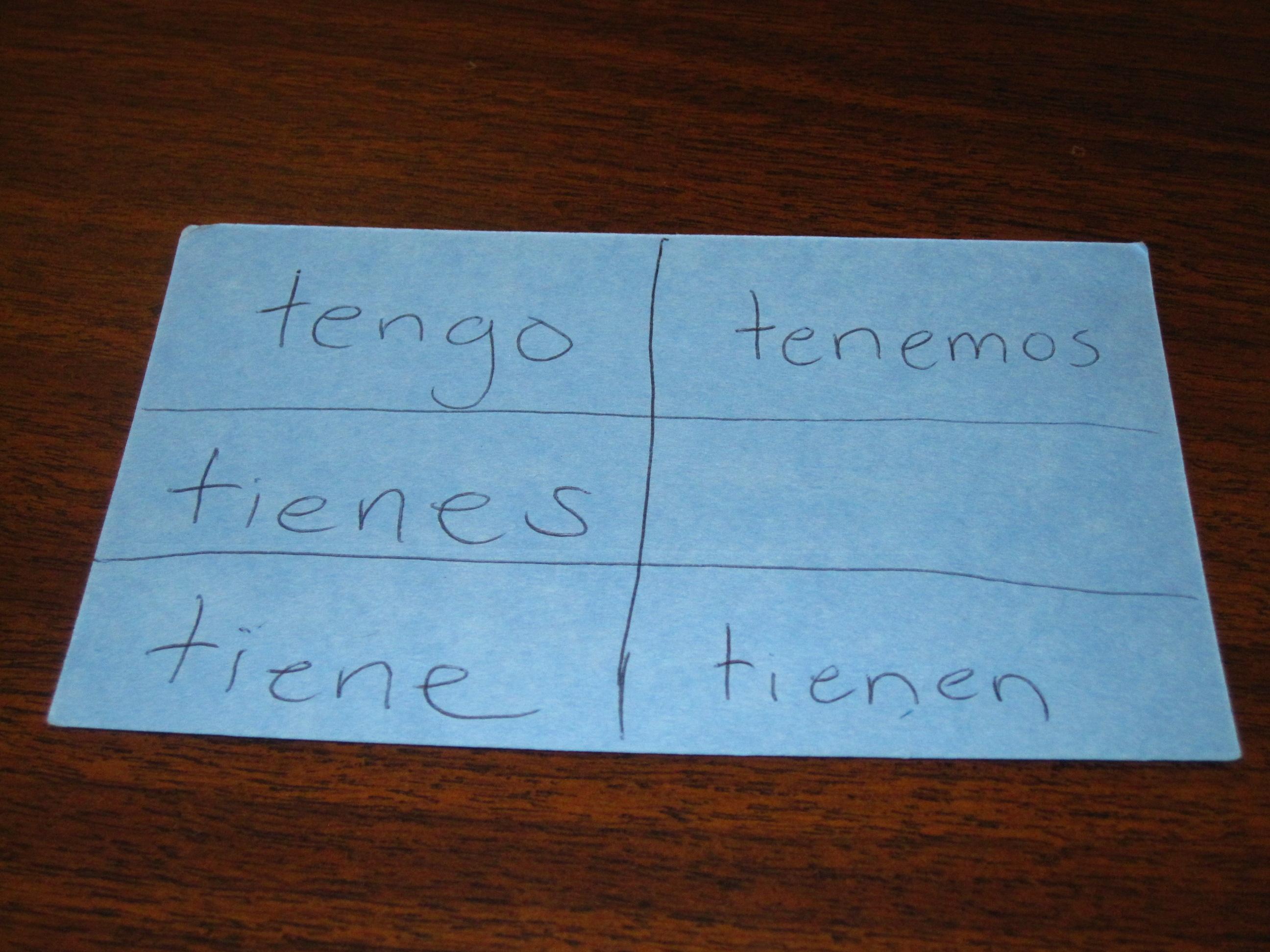Tener Chart