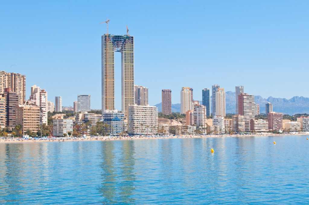 Residential Benidorm Taken Spain Tallest Europes Benidorm Building Over Bad