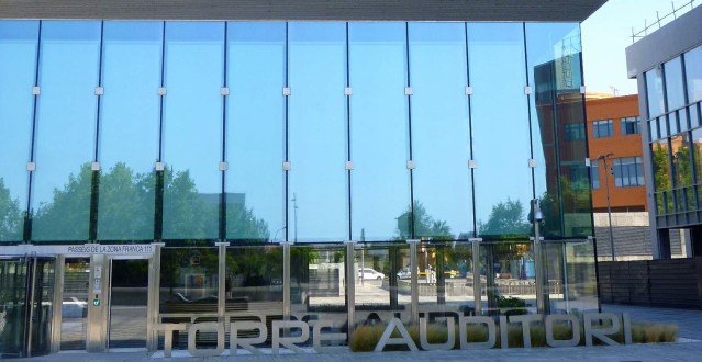 Iberdrola's Torre Auditori in Barcelona is for sale.