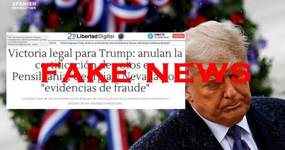Libertad Digital miente al señalar que se habían encontrado evidencias de fraude en EEUU