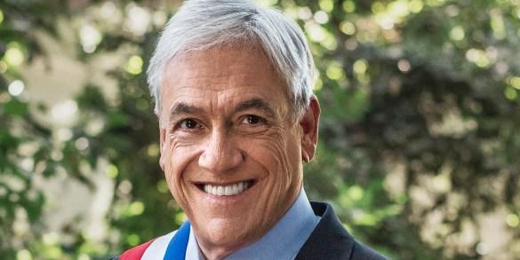 Retrato Oficial Presidente Pinera 2018