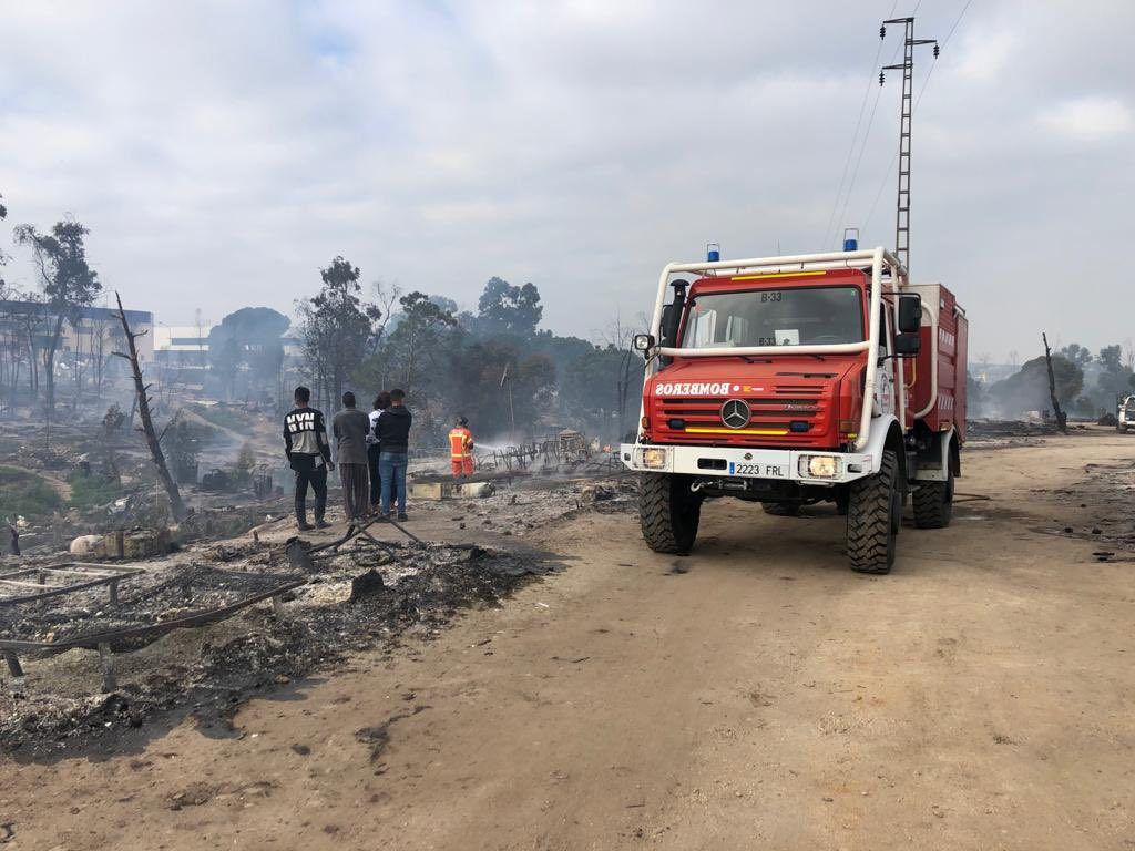 Incendio Palos de la Frontera