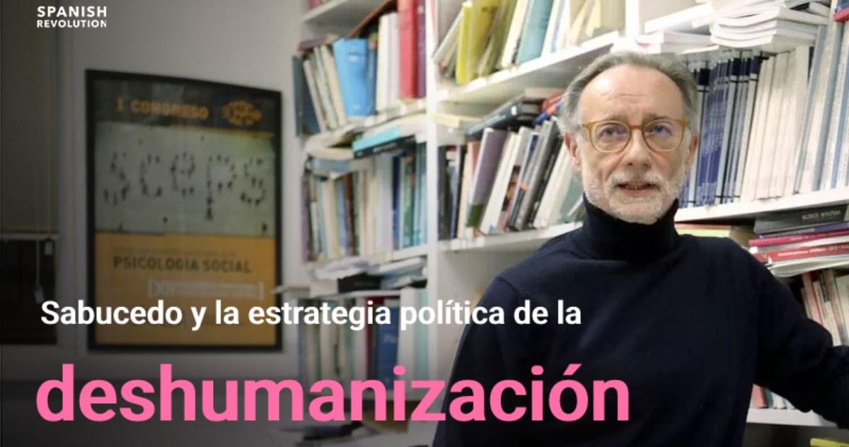 José Manuel Sabucedo: «Hay partidos que deshumanizan al adversario y la prensa lo permite»
