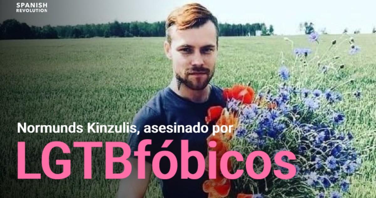 Queman vivo al activista LGTBI Normunds Kinzulis en Letonia