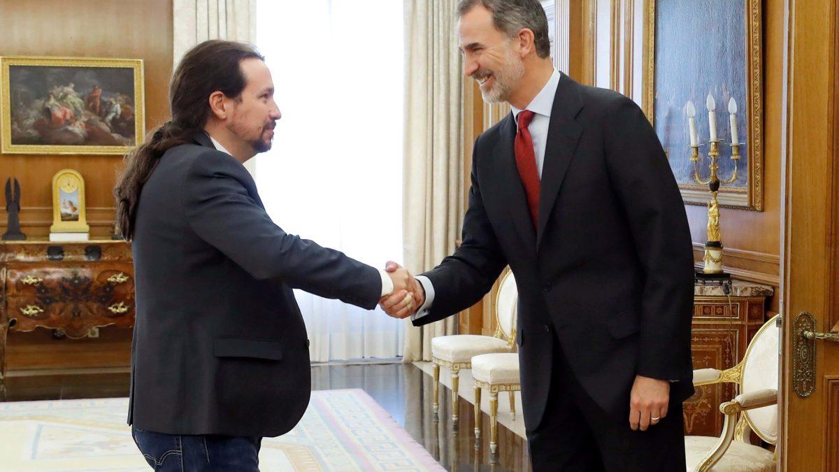 Así vaticinaba Pablo Iglesias lo que le iba a pasar al rey «Felpudo VI»