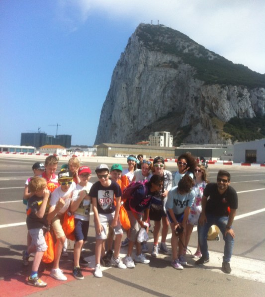 Danesfield went to Gibraltar