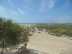 La playa!