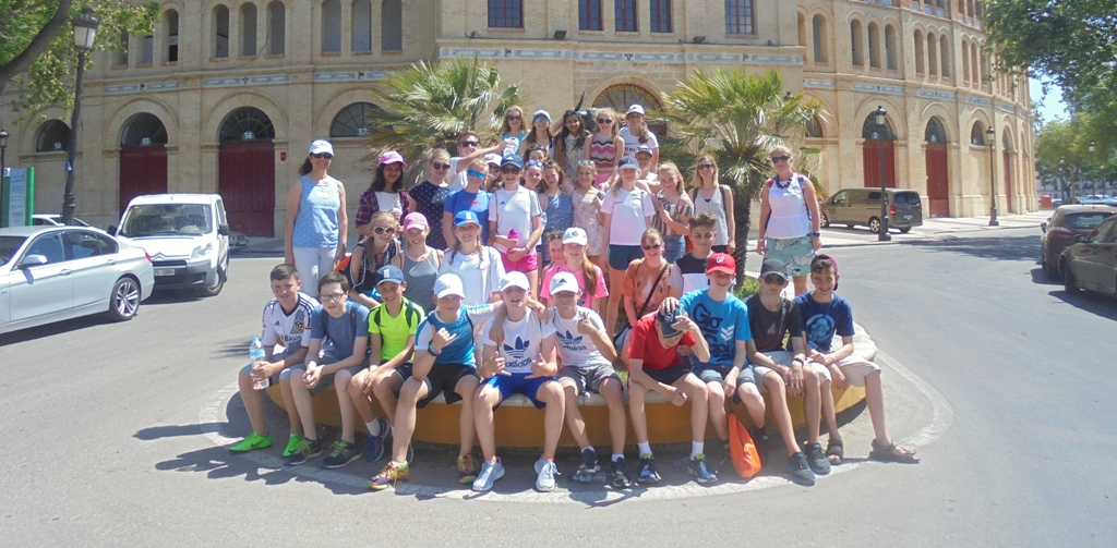 Norwich- Year 8 School Trip to Spain- June 2017