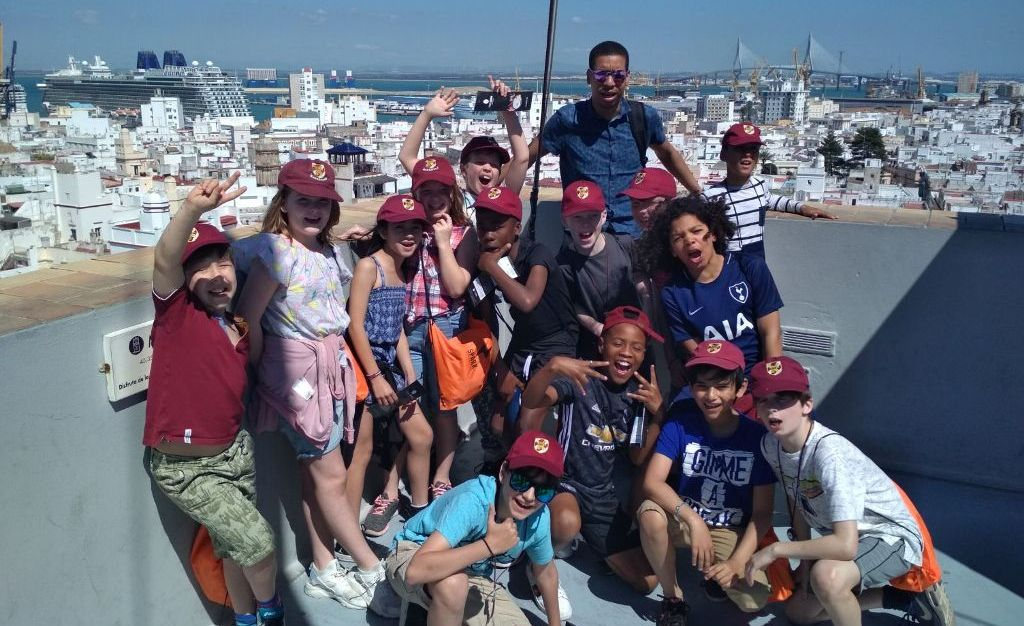 Oakfield School trip to Spain-2018