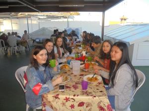 Spanish school tours paella class