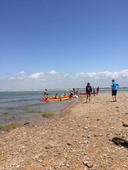 Kayaking at Sancti Petri Spanish School Tours