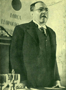 Juan Negrín y López, Minister of Finance, the Republic of Spain