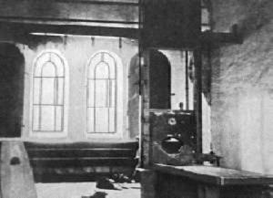 Death room in the Plötzensee Prison