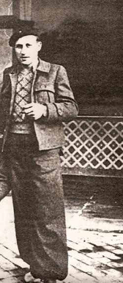 Wolfgang Hoffmann i Spanien, 1937
