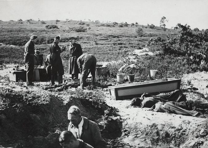 Near Amersfoort Concentration Camp, 29 November 1945