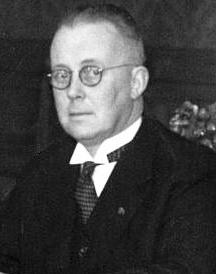 Minister of Justice (24 June 1937–25 July 1939) Carel Goseling