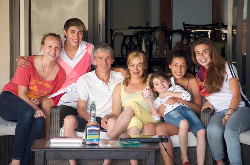 Las familias... pieza clave para el éxito del programa.