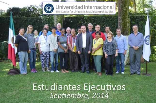 Estudiantes del Programa de Español Intensivo para Ejecutivos, Sep 2014