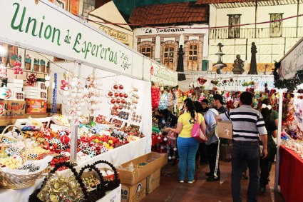 Feria de la esfera Tlalpujahua
