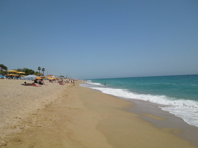 Pineda de mar Strand