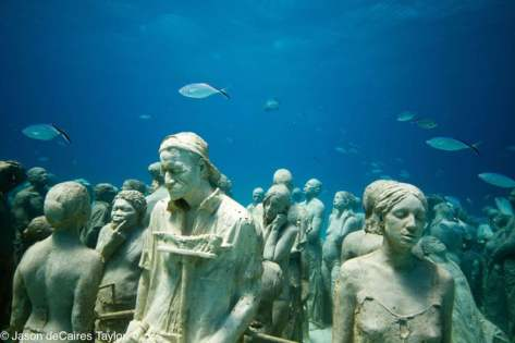 Onder water naar een museum-2