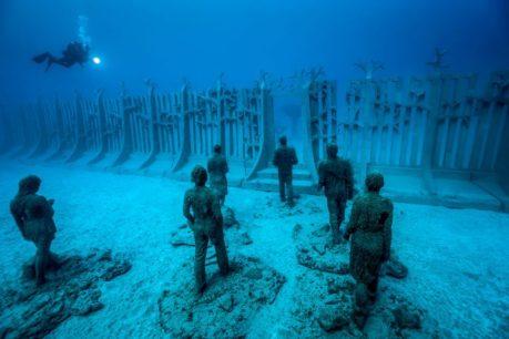 Onder water naar een museum -4