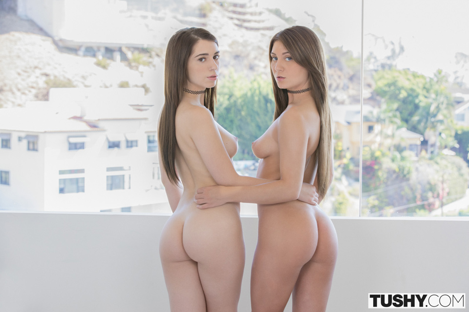 Jojo Kiss and Joseline Kelly - nude - Tushy