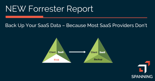 Back up your SaaS Data Because SaaS Providers Don't