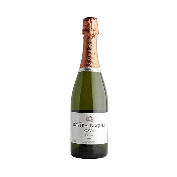 ROVIRA BAQUÉS CAVA BRUT - - Mousserende vin